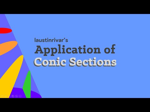 Application Of Conic Sections