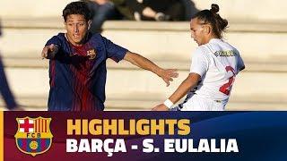 Download Video [HIGHLIGHTS] FUTBOL (Juvenil A): FC Barcelona – Santa Eulàlia (8-2) MP3 3GP MP4