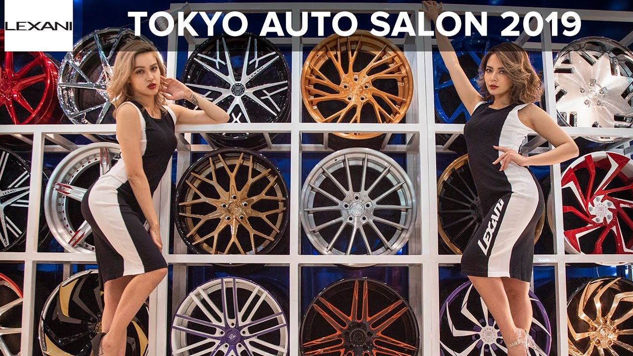 TOKYO AUTO SALON 2019: LEXANI WHEELS