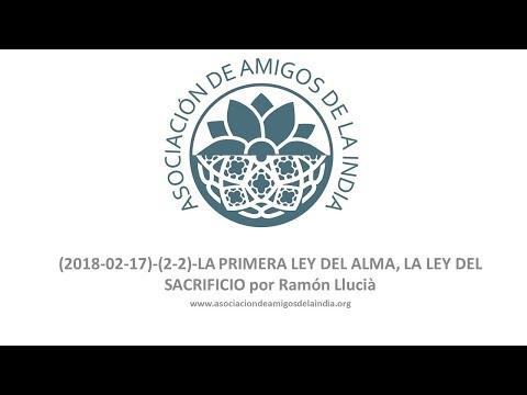 LA PRIMERA LEY DEL ALMA, LA LEY DEL SACRIFICIO por Ramón Llucià segunda de dos