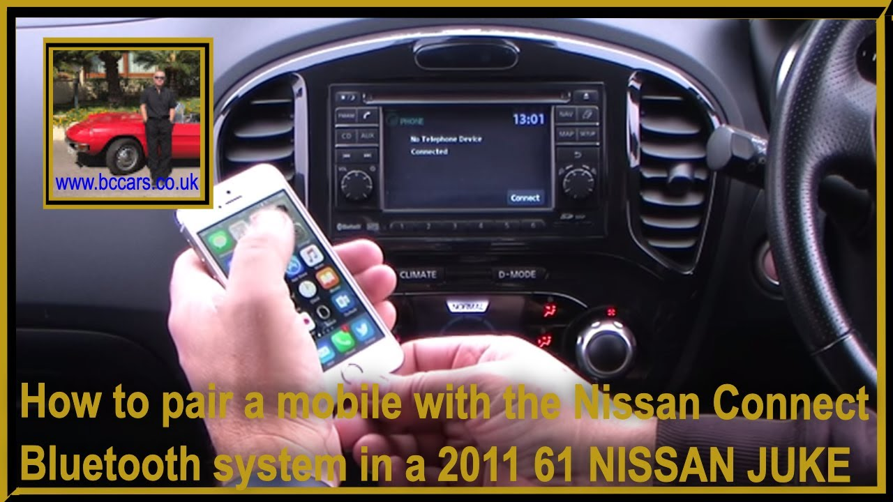 how to pair your iphone wit the nissan connect bluetooth. Black Bedroom Furniture Sets. Home Design Ideas