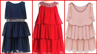 gorgeous 2020 New Designer's layered frocks designs and ideas for girls and women