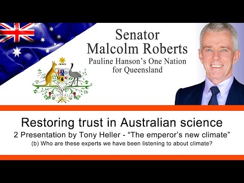 "Restoring Trust In Australian Science - Part 3  - Who are the ""Experts"" by Tony Heller"