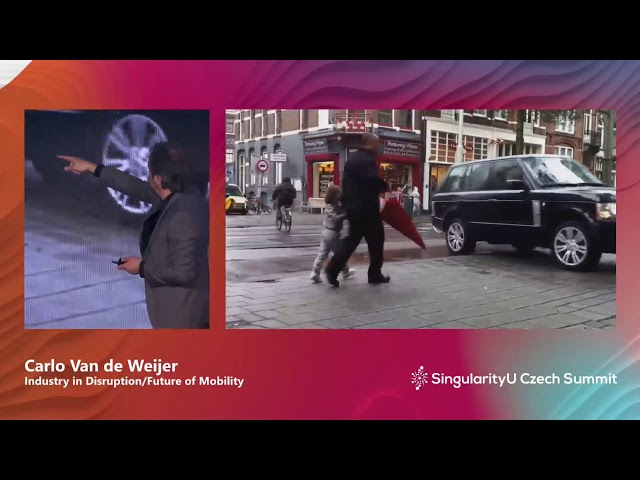 Carlo van de Weijer I Future of Mobility I SingularityU Czech Summit 2019 | Singularity University