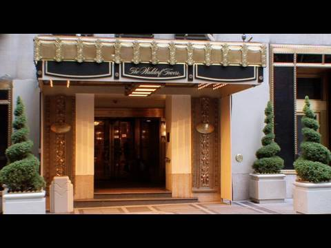 The Waldorf Towers - New York City - on Voyage.tv
