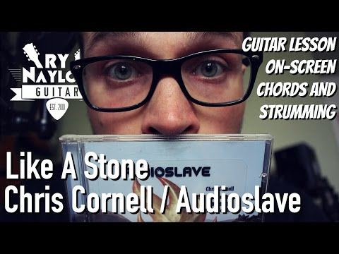 Like A Stone Guitar Lesson (Chris Cornell / Audioslave) Acoustic Guitar Tutorial