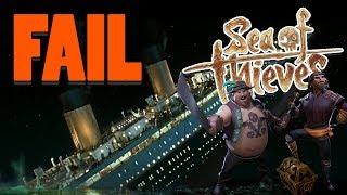 DET ÄR FAIL I LASTEN | Sea of Thieves med figgehn & Whippit