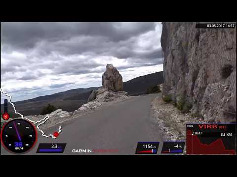 60 Minute Great Canyon du Verdon Road Cycling Workout France Part 3