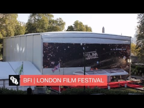 huge selection of d330f 07005 Building a cinema in 60 seconds   Timelapse Video at Embankment Gardens    BFI London Film Festival