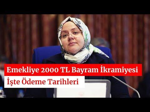 Emekliye 2 Bin TL Bayram İkramiyesi Tarihleri Netleşti