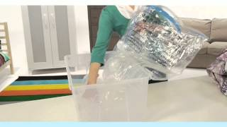 Protect And Store Easi Vac Vacuum Storage Bag - How To Use Cube