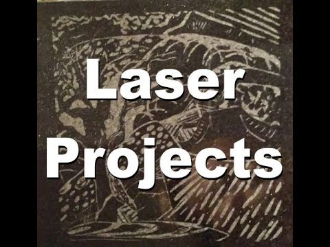 Laser Engraving & Cutting - Collection of Projects
