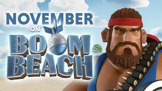 This November on Boom Beach!