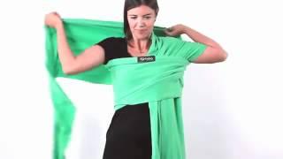 vido comment attacher votre charpe boba wrap www arche de neo com