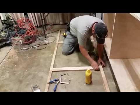 Kitchen cabinet build part 1
