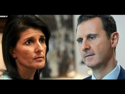 Haley: Syria's Assad 'Big Hindrance' To Moving Forward (March 29, 2017 Headlines)
