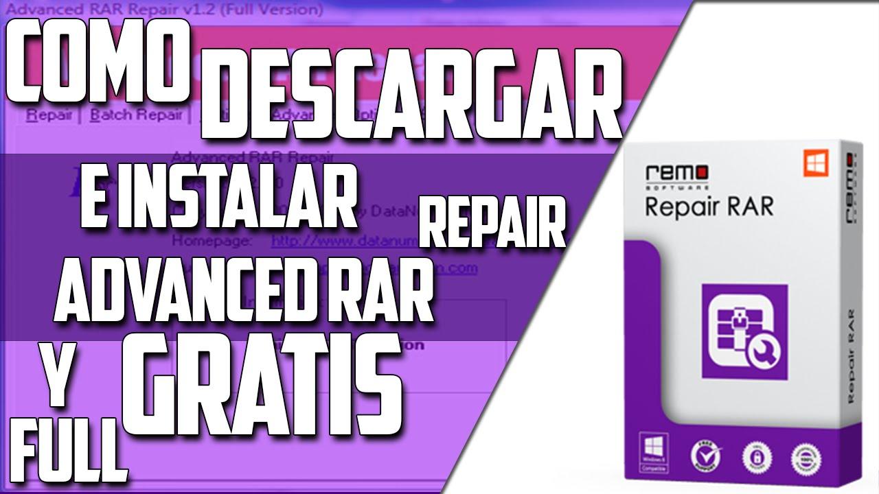 Descargar e Instalar Advanced RAR Repair v 1 2 FULL (Eliminar Contraseñas  De Los WinRAR)