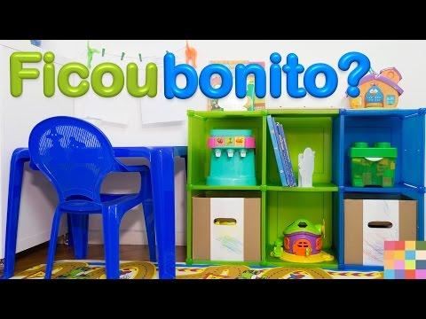 Organize brinquedos com praticidade e fofura