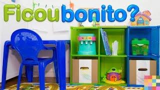 Organização e decoração de quarto de criança