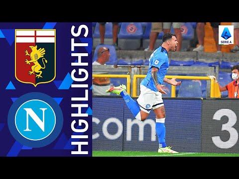 Genoa Napoli Goals And Highlights