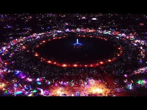 Burning Man 2018 Drone Footage