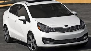 2015 Kia Rio Start Up and Review 1.6 L 4-Cylinder