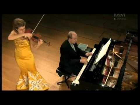 Mozart, Violinsonate F Dur KV 547   Anne Sophie Mutter Violine), Lambert Orkis (Klavier)