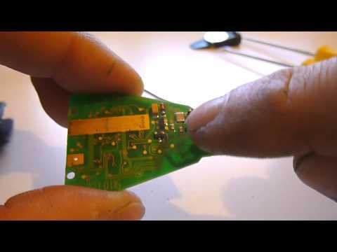 mercedes-optical-key-malfunction-wont-turn-/-stuck---cleaning-&-repair-procedure