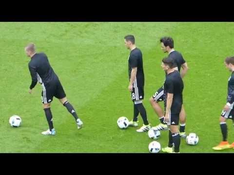 Jérôme Boaten ● Toni Kroos ● Sami Khedira ● Northern Ireland vs Germany ● Euro 2016