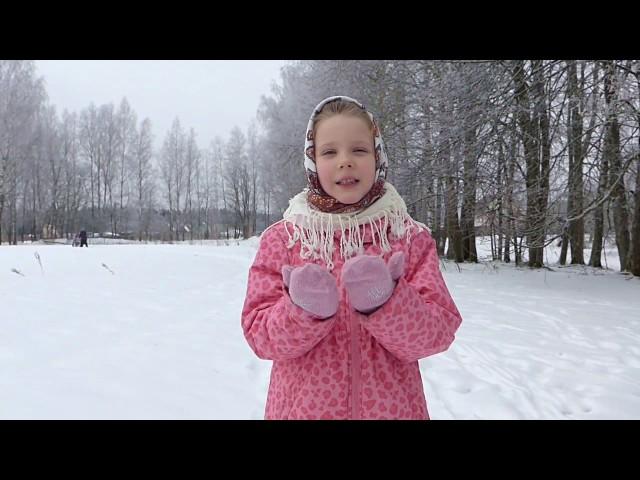 Изображение предпросмотра прочтения – ДарьяЛевкина читает произведение «Весна (Зима не даром злится…)» Ф.И.Тютчева