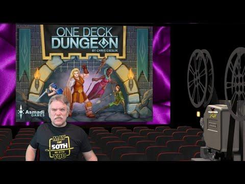 Slideshow Gaming - One Deck Dungeon by Asmadi Games |