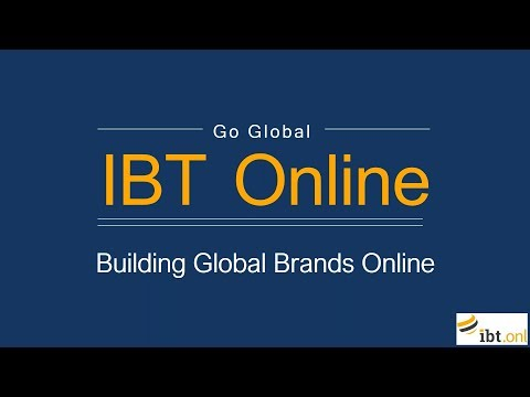 Go Global Webinar: Building Global Brands Online