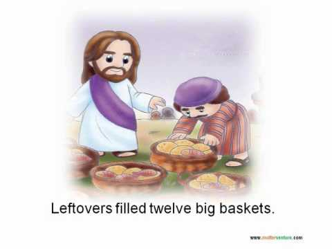 TWO LITTLE FISHES AND FIVE LOAVES OF BREAD - Lyrics ...