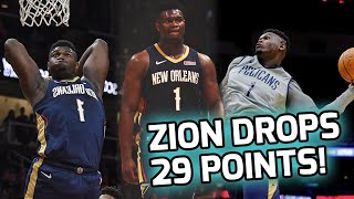 Zion Williamson Drops 29 POINTS In Offensive Shootout! Dominates Game That Goes Down To LAST SHOT 🤯