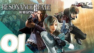 Resonance of Fate 4k / HD [PS4] - Gameplay Walkthrough Part 1 Prologue - No Commentary