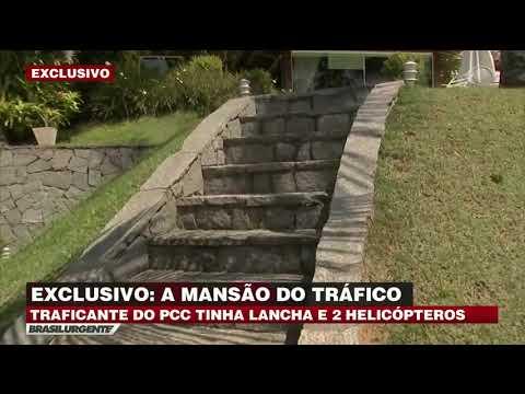 """Exclusivo: Brasil Urgente na mansão do traficante """"André do Rap"""""""