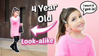 TURNED MY 4 YEAR OLD INTO ARIANA GRANDE FOR A DAY