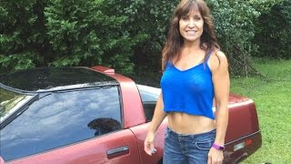 Farm Girl puts Seafoam in a Corvette and revving. How to clean your fuel system.