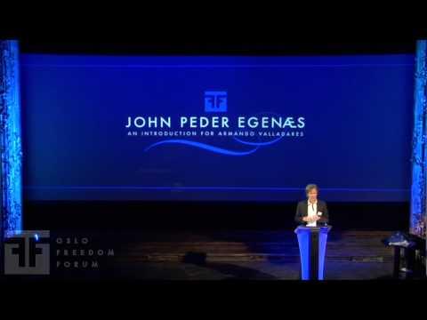 John Peder Egenæs - Oslo Freedom Forum 2009