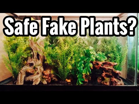 Aquarium Safe Plants? Fake - Plastic, Silk, China?