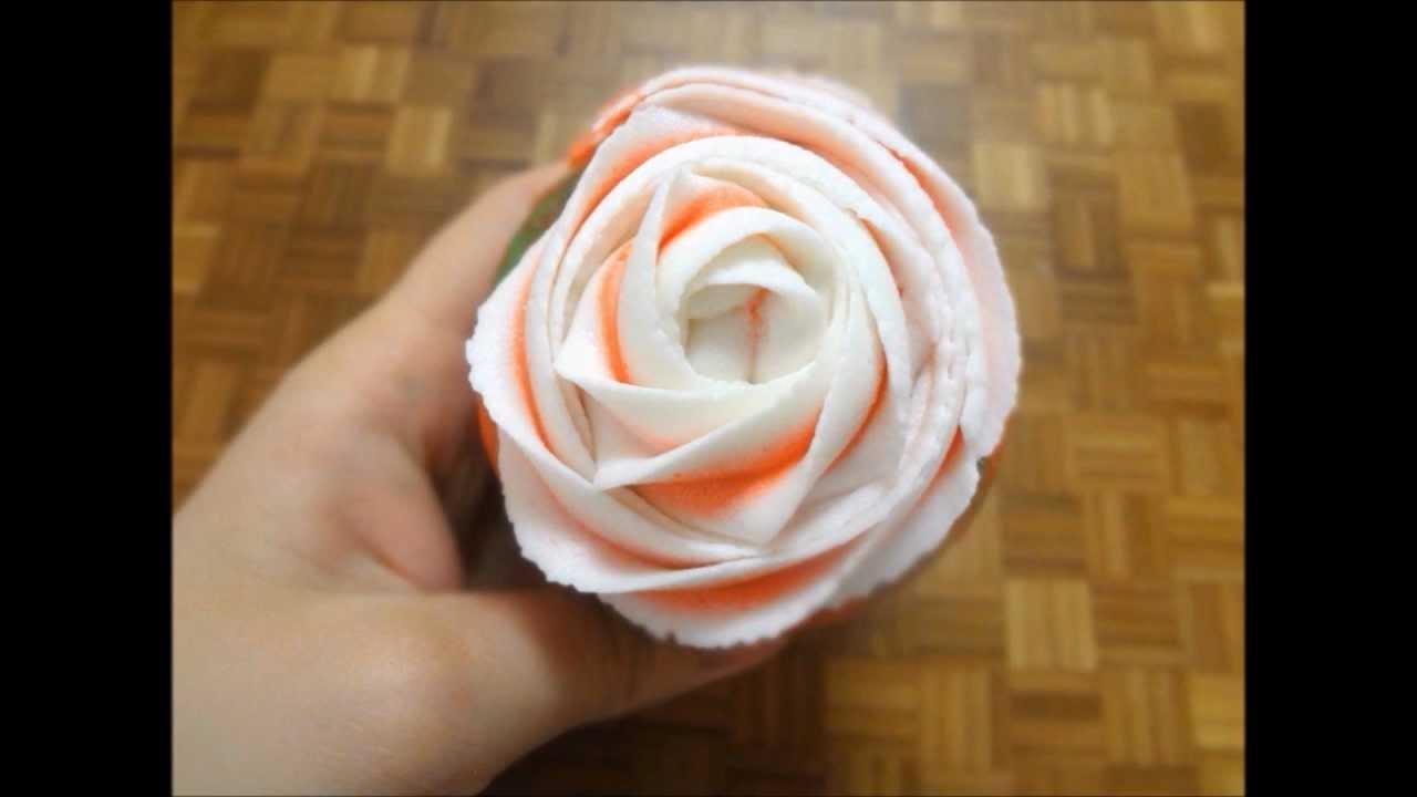 Rose Swirled Cupcakes Rosette Cupcakes Youtube