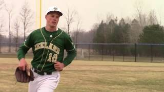 Caleb Kender senior baseball highlights Zeeland West MI Class of 2018