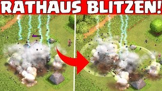 RATHAUS BLITZEN! || CLASH OF CLANS || Let's Play CoC [Deutsch German HD]