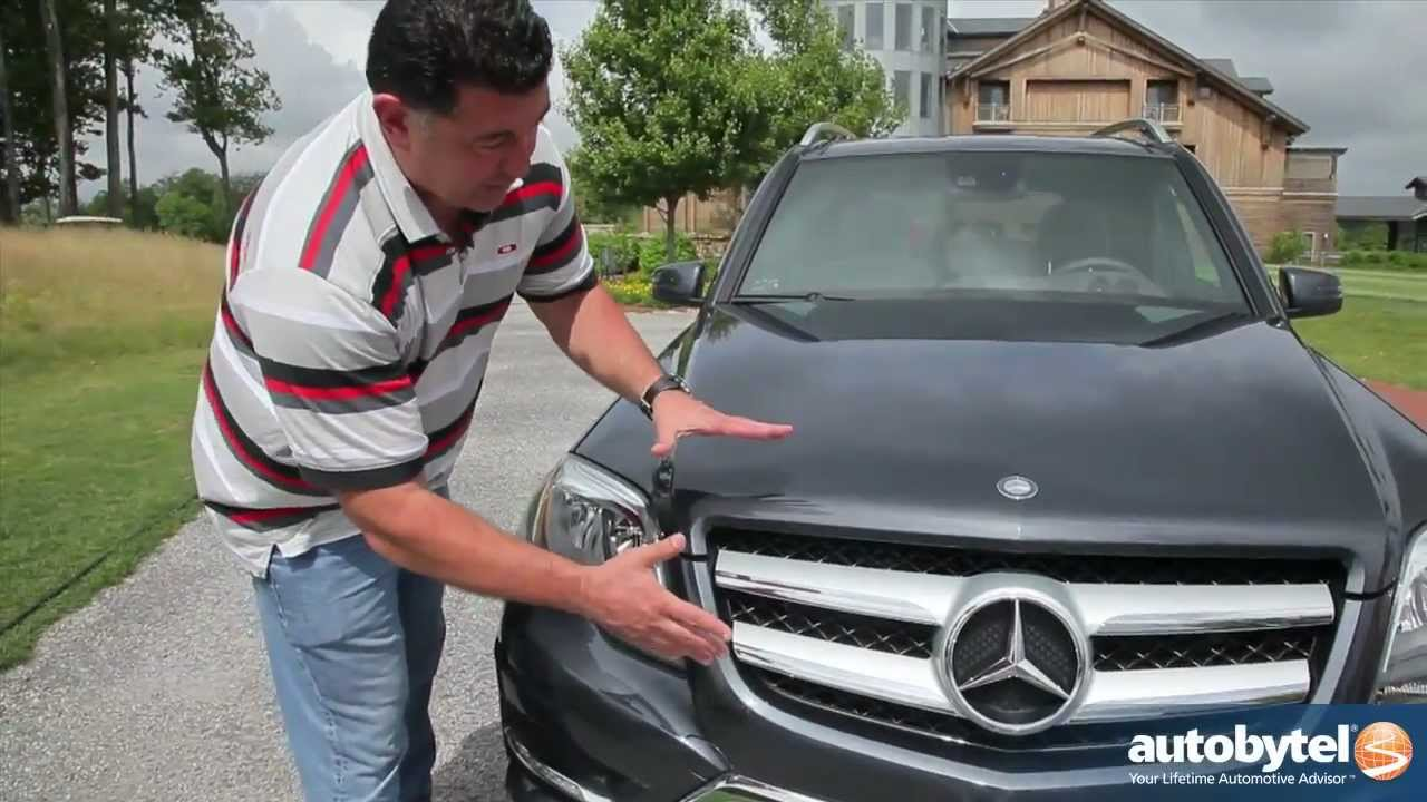 2013 mercedes-benz glk350 luxury crossover suv video review - youtube