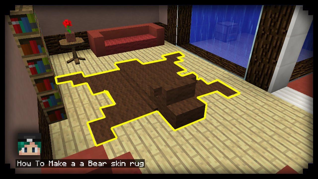 สอนสร าง พรมหน งหม Minecraft Pe You