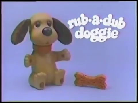 RubADub Doggie Commercial 1980's Ideal