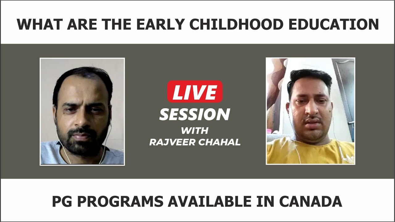 What Are The Early Childhood Education PG Programs Available in CANADA