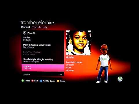Zune Music Marketplace- XBox Dashboard Update Fall 2010 1of2
