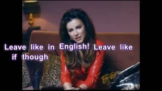Ani Lorak and Grigory Leps Uhodi po Angliyski (Leave in English Way) with English lyrics