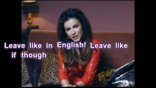 Ani Lorak and Grigory Leps Uhodi po Angliyski (Leave in English Way) with English lyrics